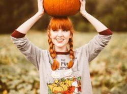I capelli rossi e le shades dell'autunno!
